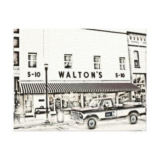 Waltonの安物 キャンバスプリント