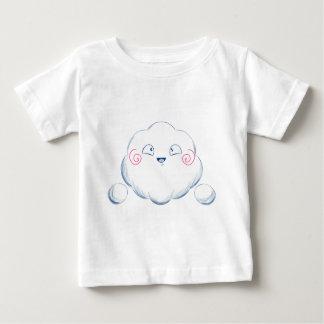 Wandaの幸せな雲の微笑 ベビーTシャツ
