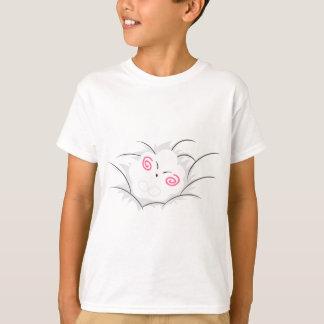 Wandaの幸せな雲の睡眠のベビー Tシャツ