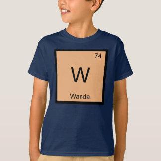 Wanda一流化学要素の周期表 Tシャツ