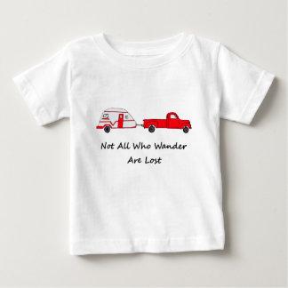 wander失った引用文のトレーラーのキャラバンであるすべて ベビーTシャツ