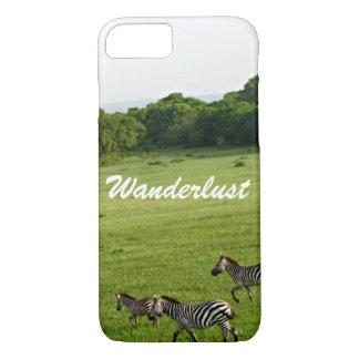 Wanderlustのシマウマ iPhone 8/7ケース