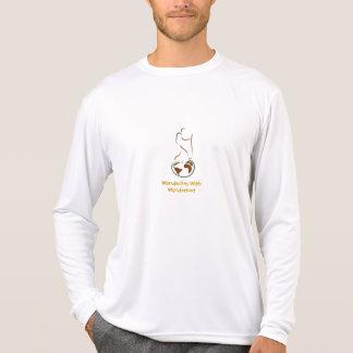 Wanderlustのワイシャツによってさまようこと Tシャツ