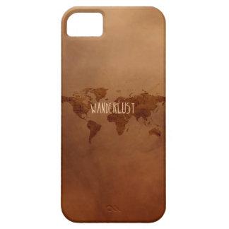 Wanderlustのヴィンテージの世界地図 iPhone SE/5/5s ケース