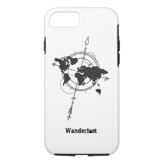 Wanderlustの地図 iPhone 8/7ケース
