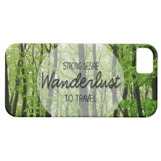 Wanderlustの森林引用文 iPhone SE/5/5s ケース