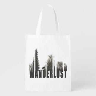 Wanderlustの買い物袋 エコバッグ