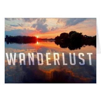 Wanderlustの郵便はがき カード