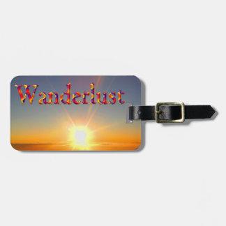 Wanderlustの_の荷物のラベル ラゲッジタグ