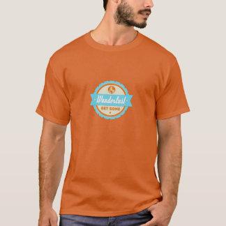 Wanderlust: いくつかを得て下さい tシャツ