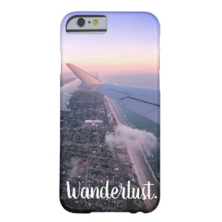 Wanderlust、カスタマイズ可能な旅行-電話箱- Barely There iPhone 6 ケース