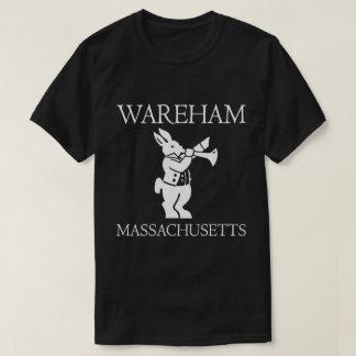 Warehamの白いウサギのティー Tシャツ