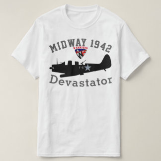 "Warkites ""中間の1942年""のDevastator Tシャツ"