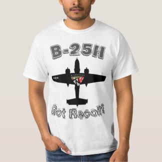 """Warkites B-25Hの""""得られた反動か。"""" Tシャツ"""