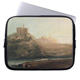 Warkworthの城、ノーサンバーランド、c.1798 (w/c、gou ラップトップスリーブ