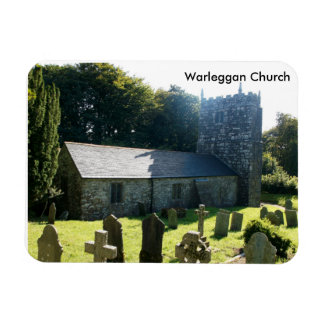 Warleggan教会コーンウォールイギリス マグネット