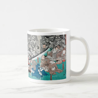 Warrior Minamoto Raiko and the Earth Spider コーヒーマグカップ
