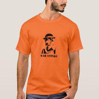 warstinks、戦争の悪臭 tシャツ
