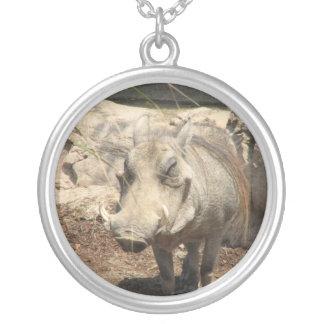 Warthogの純銀製のネックレス シルバープレートネックレス