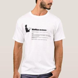 WarWare辞書の人のTシャツ Tシャツ