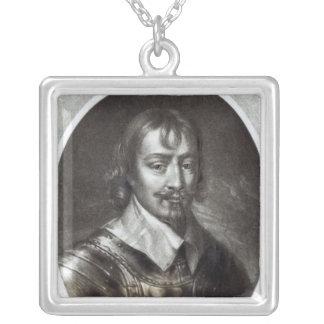 WarwickのロバートRich第2伯爵 シルバープレートネックレス