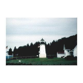 Warwickの灯台水彩画 キャンバスプリント