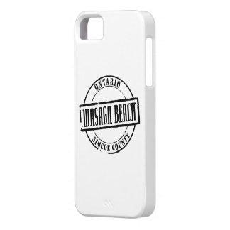 Wasagaのビーチのタイトル iPhone SE/5/5s ケース