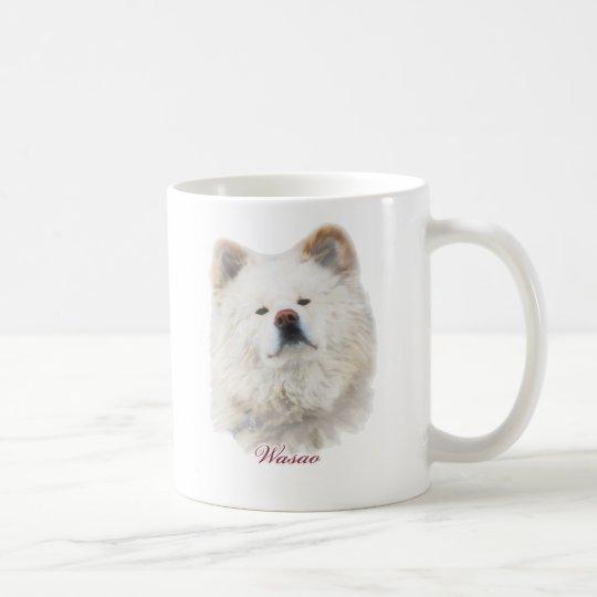 "Wasao Mug ""BE QUIET?"" コーヒーマグカップ"