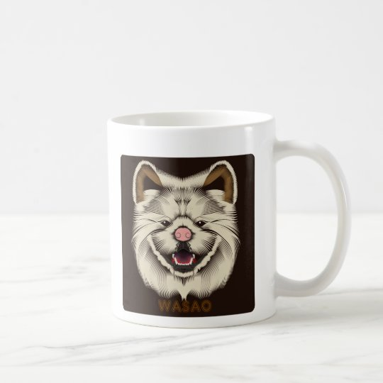 "Wasao Mug ""BE WILD?"" コーヒーマグカップ"