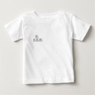 WASDの鍵 ベビーTシャツ