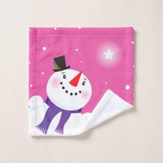 Washclothのクリスマスの版 ウォッシュタオル