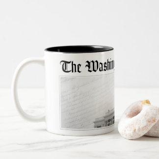 WashCo 2の調子のコーヒー・マグ ツートーンマグカップ