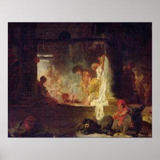 Washerwomen、c.1759 ポスター