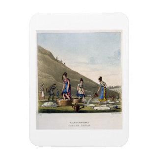 Washerwomen、Caltonの丘、「空気のようなからのエジンバラ、 マグネット
