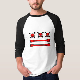 Washington D.C.のスカル Tシャツ