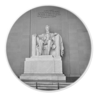 Washington D.C.のリンカーン記念館 セラミックノブ
