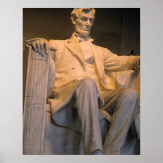 Washington D.C.のリンカーン記念館 ポスター