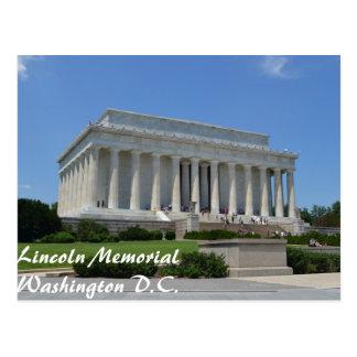 Washington D.C.のリンカーン記念館 ポストカード