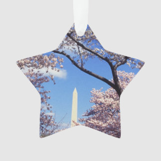 Washington D.C.の写真の桜 オーナメント