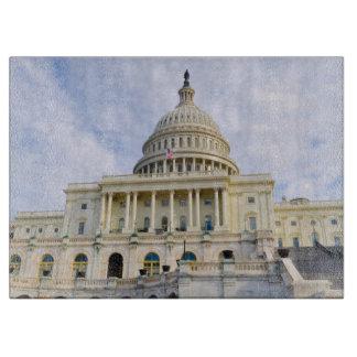 Washington D.C.の国会の建物 カッティングボード