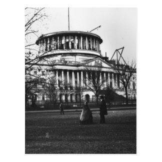Washington D.C.の国会議事堂の建物 ポストカード