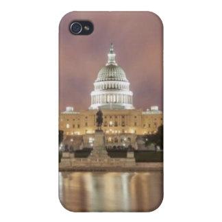 Washington D.C.の国会議事堂の建物 iPhone 4/4Sケース
