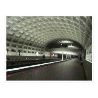 Washington D.C.の地下鉄駅 ポストカード