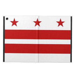 Washington D.C.の旗との愛国心が強いipadの場合 iPad Airケース