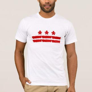 Washington D.C.の旗 Tシャツ