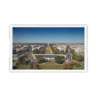 Washington D.C.の景色の概観 アクリルトレー