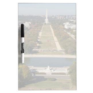 Washington D.C.の景色の概観 ホワイトボード