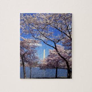 Washington D.C.の桜 ジグソーパズル