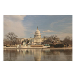 Washington D.C. ウッドウォールアート