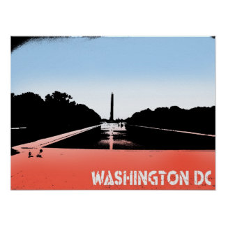 Washington D.C.ポスター ポスター